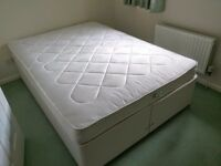 **Double bed 135x190 VERY GOOD CONDITION**