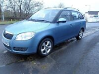 2008(58) Skoda Fabia estate NEW MODEL 1.4 Petrol MOT'd 1 YEAR Reduced to Sell £1395
