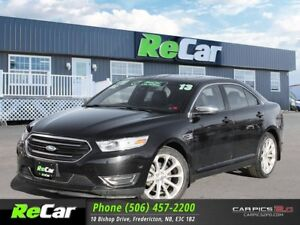 2013 Ford Taurus Limited AWD | HEATED LEATHER | NAV | BACK UP...