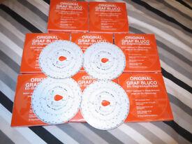 700 x Original Graf Bluco EEC Tacho Tachograph cards charts disks 125 km/h *NEW*