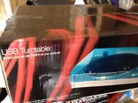 USB RECORD TURNTABLE MARKS SPENCER BOXED NEW TEDDINGTON COST £60