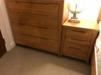 Debenhams Nord Oak Chest of Drawers