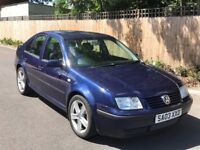 VW Bora 1.9 tdi, 1 owner from new, 81k miles, HPi clear Low mileage!