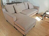 Corner Sofa Dwell (Colour - Sand)