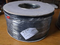 Coax Cable Drum, RG59B/U 100m for CCTV, Satellite, Cable TV