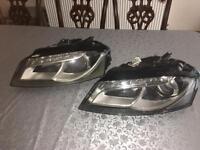 Audi A3 S3 DRL Xenon Headlights Damaged