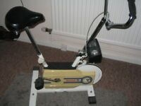 Exercise Bike. Heavy solid build. Leisurewise make. £50. No offers please. Kingswood, Bristol.