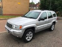 2004 Jeep Grand Cherokee 2.7 CRD Limited Station Wagon 4x4 5dr Auto 2.7L @07445775115