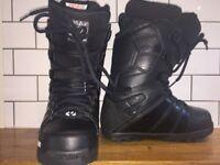 Women's ThirtyTwo Lashed Snowboarding Boots UK 6.5 Black
