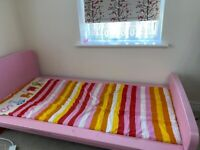 Children bed & Mattress. Free to pick up. Excellent condition....