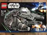Lego 7965 millennium falcon RETIRED Rare New and sealed