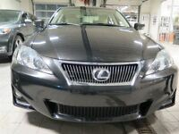 2011 Lexus IS 250 AWD automatique noir 119$/SEM 51200km