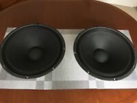 "Eminence Alpha 15A 15"" bass speakers, (one Pair)"