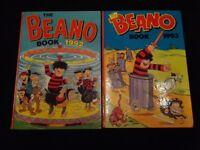 Beano books 1992 and 1993 two books