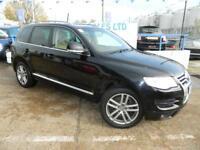 VOLKSWAGEN TOUAREG 3.0 V6 ALTITUDE TDI 5d AUTO 240 BHP A GREAT EXAMPL (black) 2008