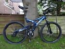 FULL SUSPENSION SHOCKWAVE XT 980. ALLOY MTB . 21 SPEEDS. DISC BRAKES. A1 WORKING CONDITION