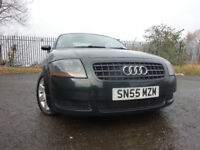 06 AUDI TT TURBO 1.8 3 DOOR COUPE,MOT APRIL 018,2 OWNERS,2 KEYS,PART HISTORY,VERY LOW MILEAGE CAR