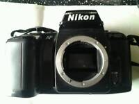 Retro nikon slf f-601 camera body
