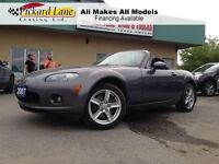 2007 Mazda MX-5 GX!!!   THE SUN IS SHINING...LET'S GO TOPLESS!!!