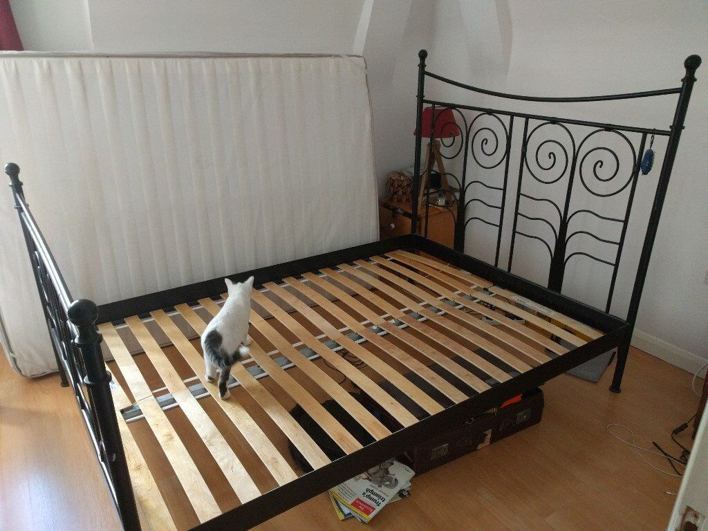 Ikea Noresund Double Bed Frame Dimensions
