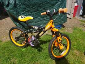 Boys Action Man Bike