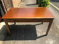 Vintage antique desk for restoration project