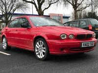SALE!! 2002 JAGUAR X-TYPE 2.1 V6 SPORT * SALOON * LEATHERS * ALLOYS * PARKING SENSORS