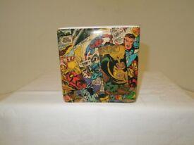 A Genuine MARVEL HEROS Ceramic Money Box