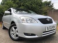Toyota Corolla T3 VVTI Full Year Mot No Advisorys Low Mileage Cheap To Run And Insure Cheap Car !!!