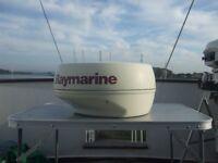 "Raymarine Plus Pathfinder 18"" 2Kw Radar Scanner"