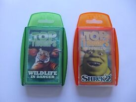 Top Trumps: Wildlife In Danger And Shrek 2