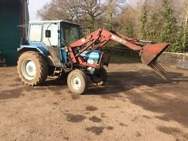 FORD 4110 WITH LOADER* ONE OWNER FROM NEW * NO VAT