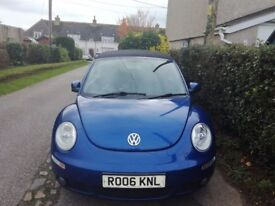 2006 VW Beetle TDI 1.9 Cabrio,Blue