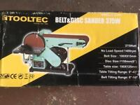 Belt and disc sander (375w) New