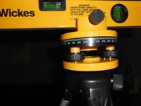 Rotating laser level kit