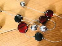 Long Decorative Necklace / Junk Jewellery