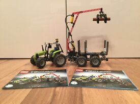 Lego Technic #8049 Tractor with Log Loader