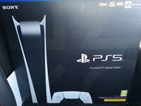 BNIB Sealed PlayStation 5 Digital Edition Standalone Console WARRANTY