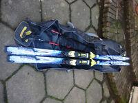 Salomon Super Force 9 Ski Skis and Ski Bag