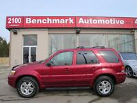 2006 Ford Escape V6-4WD-LEATHER-ROOF-SENSORS-CLEAN CARPROOF-CDN
