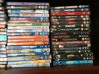 Mixed bundle of approx 70 DVD's