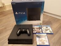 Sony ps4 500 gb one pad 3 games