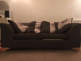 Laura Ashley 3 Seater Sofa Bed with cushions