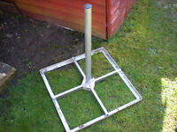 Ground Patio Stand 💥💥💥💥💥For 1 Meter Satellite Dish - No Dish Stand Only - SWAP?
