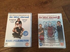 An Idiot Abroad 1 & 2 DVDs