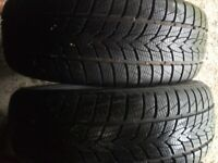 2 x winter tyres 225 55 19