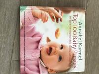 Babycare and food books