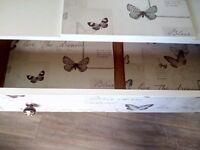 Stunning Butterflies Dressing Table