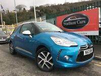 2013 (13 reg) Citroen DS3 1.6 e-HDi Airdream DStyle 3dr Hatchback Turbo Diesel 5 Speed Manual