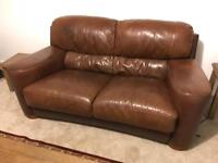 Sofitlia Leather Sofa 2 seater